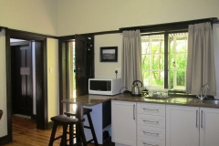 Hillside Farm - Len's cottage kitchenette