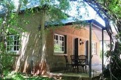 Hillside Farm - Len's cottage - verandah